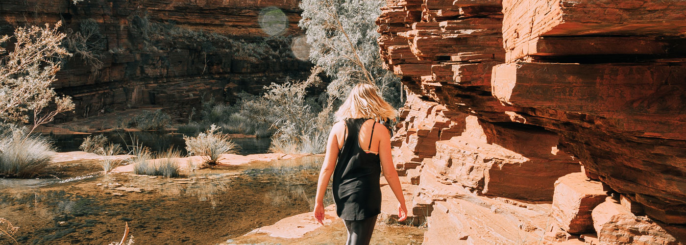 Hiking in Karijini, Western Australia with Intrepid Travel © Intrepid Group