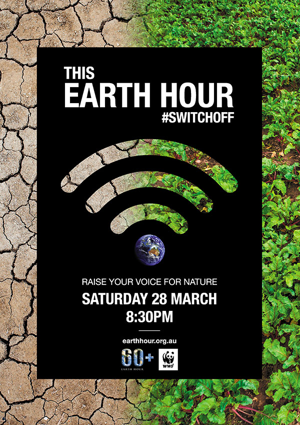 Switch off for Earth Hour Drought and Food © Westend61 / Getty Images © valentinrussanov / Getty Images / WWF-Aus