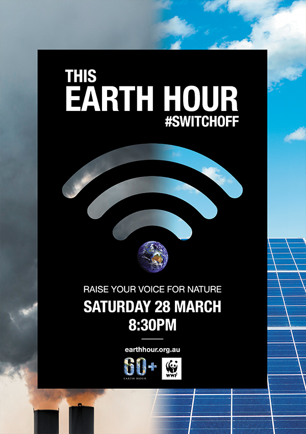 Switch off for Earth Hour Pollution to Powerhouse © Westend61 / Getty Images © valentinrussanov / Getty Images / WWF-Aus