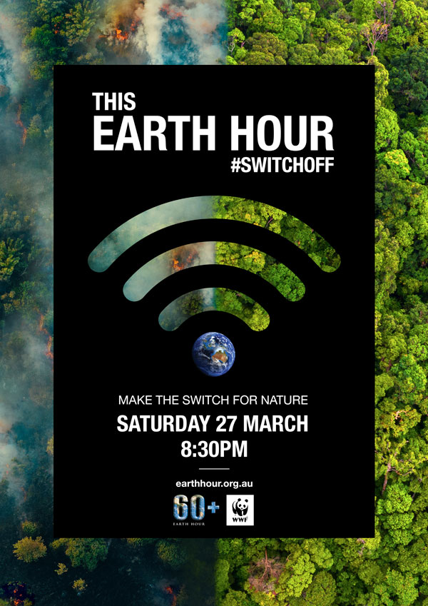 Make the switch for nature this Earth Hour 2021 - bushfire recovery © WWF-Australia