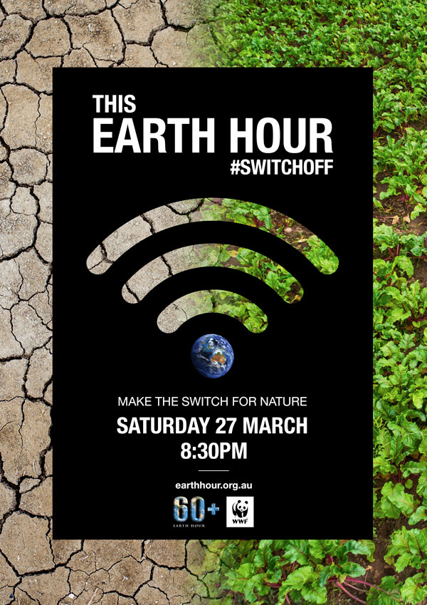 Make the switch for nature this Earth Hour 2021 - food production © WWF-Australia